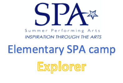 Explorer Elementary SPA Camp