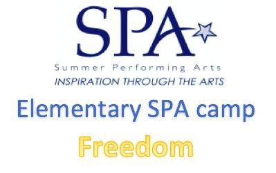 Freedom Elementary SPA Camp