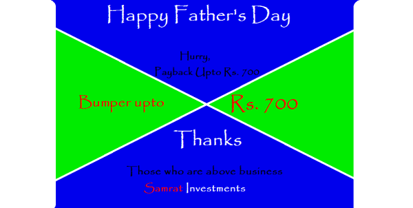 invest, economy, wealth, income, capital, gain, assets, return, samrat investments, samratindialtd, samrat india ltd, samratinvestments, life, growth, money, finance, investments, mutual funds, savings, profit, business, piggy valley, sam inspyr,  money, billionaire, student growth, global growth, annually return, trust, banking, moneyback, funding, secure money, secure life, payback, moneyback, offers, cashback, hurry, limited offer, father's day, thanks, bumper