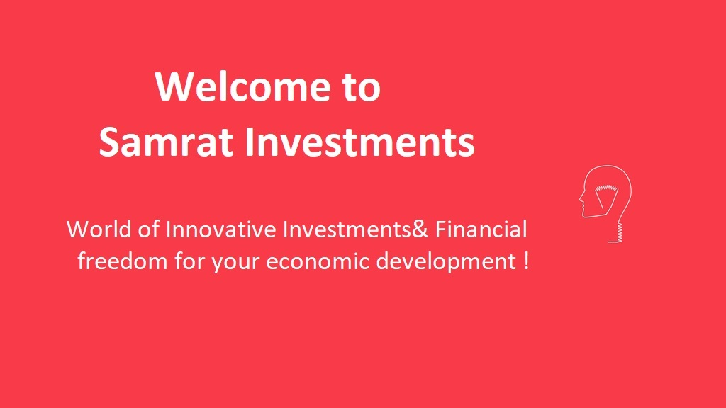 Innovative projects of Samrat Investments which impacts every being directly or indirectly