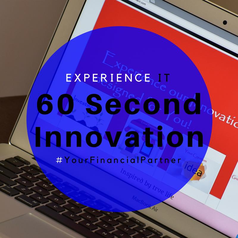 60secondinnovation, financial innovation, personal saving benefits, global economy development