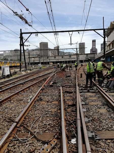 UPDATE: CAPE TOWN TOWN STATION PLATFORMS 14 - 16 RE-OPENED