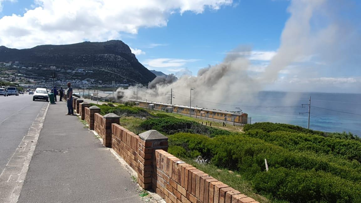 UPDATE: Four carriages damaged by fire at Glencairn