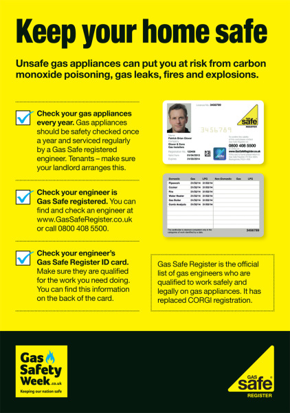 Gas Safe Maidstone - Keep your home safe