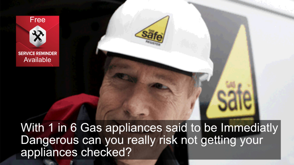 Gas Safe Plumbers - Free Boiler Service reminder From Hixa Heating a Maidstone Plumbing Company
