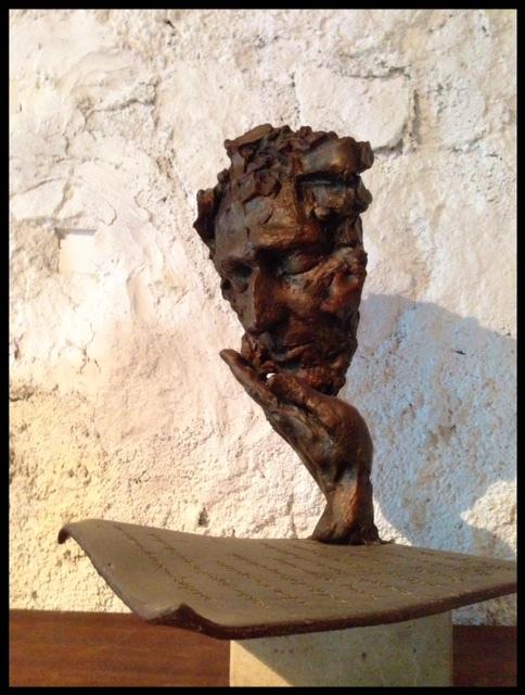 Barcelona art sculpture nature house guest rent home spain studio artist