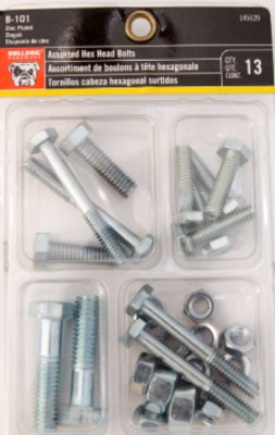 Assorted Hex Head Bolts