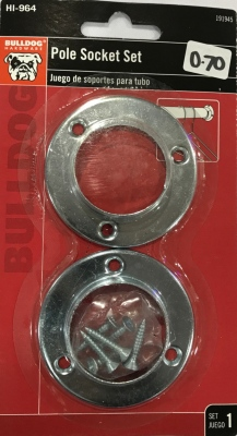 Bulldog Pole Socket Set