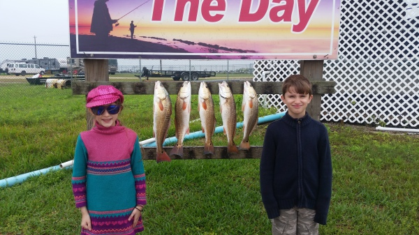 Youngen's got their Redfish!