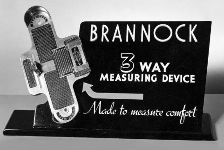 Brannock Device:  Made to Measure Comfort