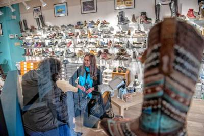 'Business shoes in front, party in back': Two Northampton businesswomen leading charge in co-retaili