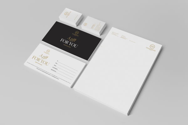 BUSINESS CARD, GIFT & EXCHANGE CERTIFICATES & LETTERHEAD