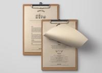 black penny cafe bar restaurant surry hills sydney menu design