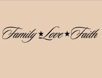 Family, Love, and Faith