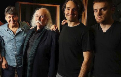 David Crosby Documentary BTS w/Cameron Crowe