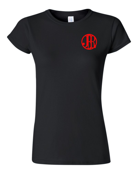 Our Female T's with Small Logo