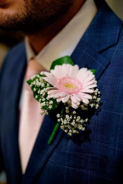 Wedding party button holes
