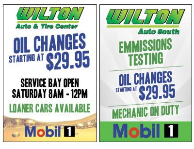 Wilton Auto Signs