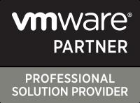 Logo qui démontre que nous sommes un partenaire certifié dans les solutions Vmware