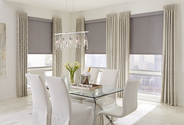 Roller Shades & Side Panels by Horizons