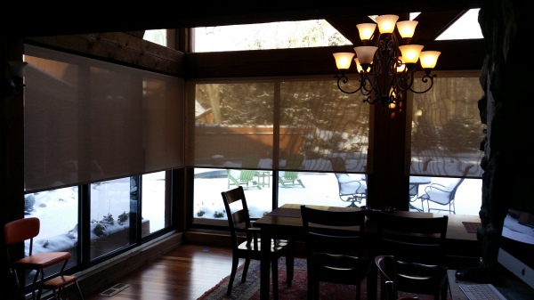 Solar Roller Shades by Hunter Douglas