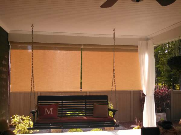 Outdoor Roller Shades by Lafayette