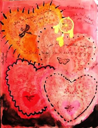 May 15-  A Relationship of Four Hearts