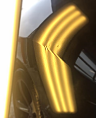 Dodge Challenger Quarter Panel