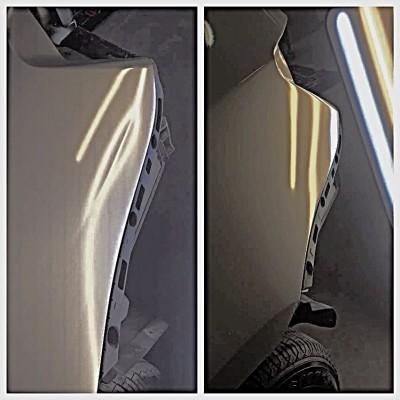Quarter Panel Crease Repair