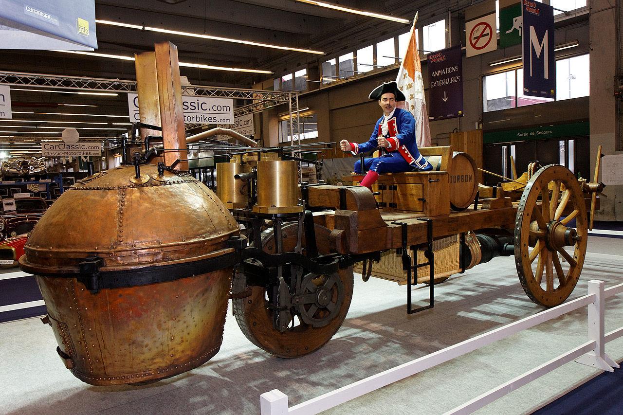 O primeiro veículo automotor