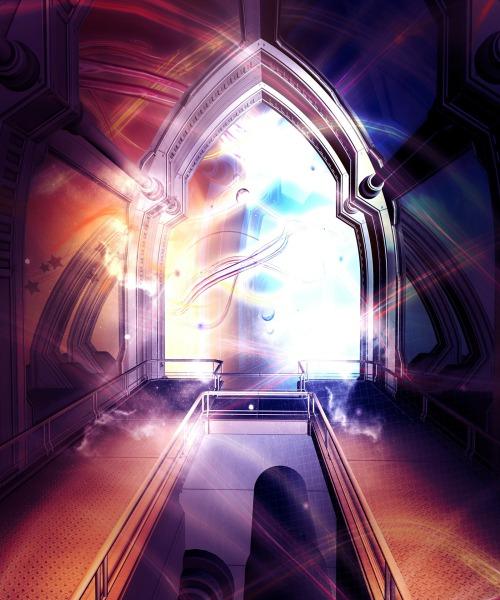 spiritual doorway, portal,
