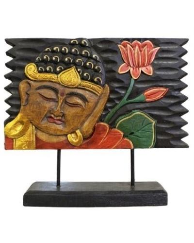 wood carving, buddha, lotus flower,buddha carving,