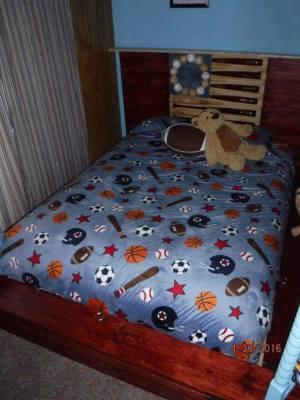 Storage Bench Bed