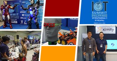 Some of the exhibitors plus Ironman