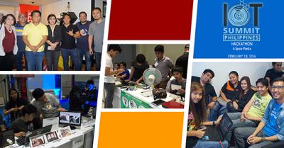 IoT Summit Hackthon participants