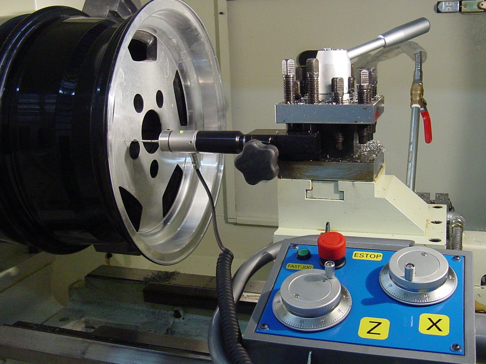 Rim Lathe MR-2540, Digitizing