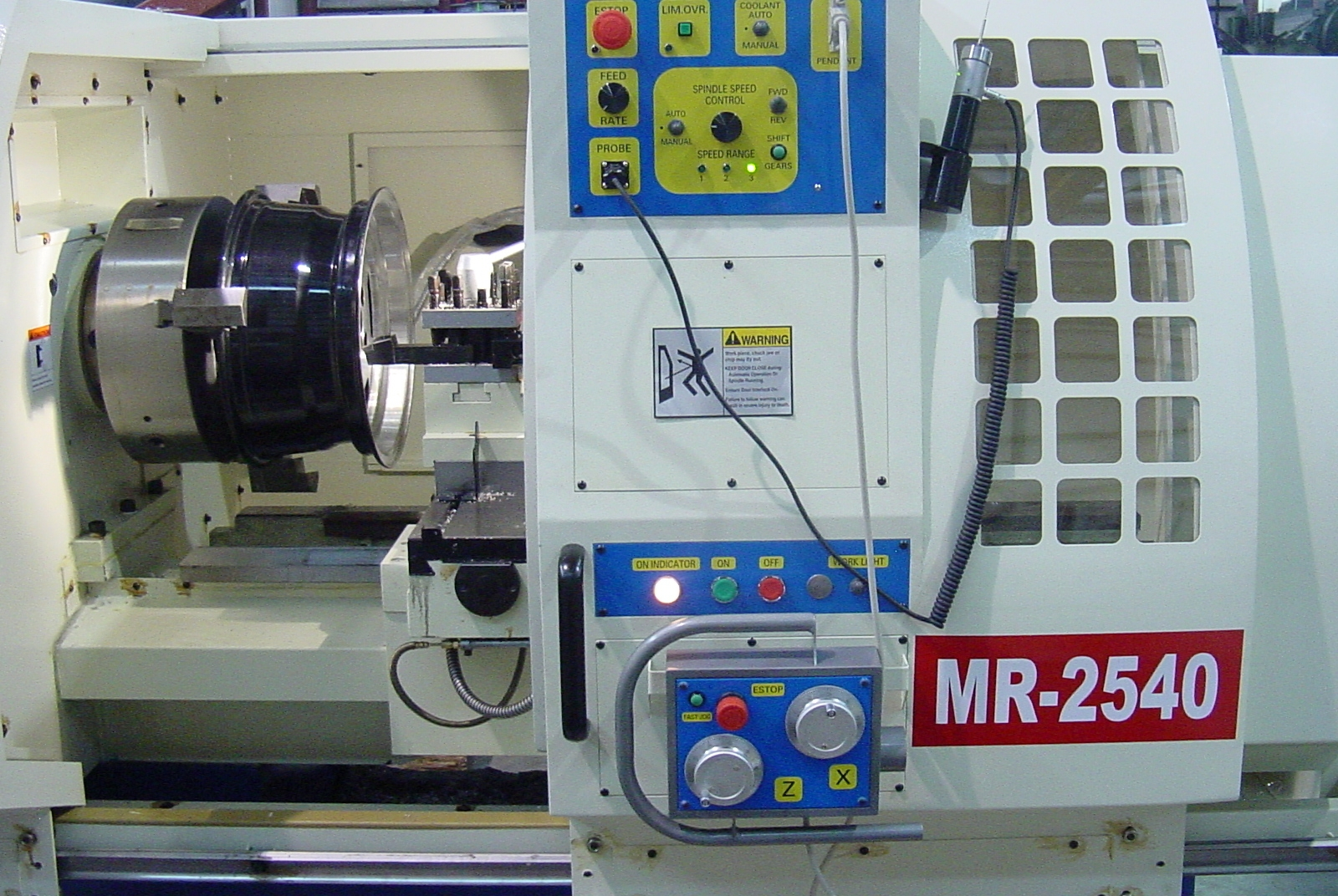 Rim Lathe MR-2540