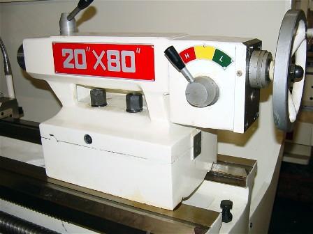 """Manual Lathe D-20"""" Tailstock"""