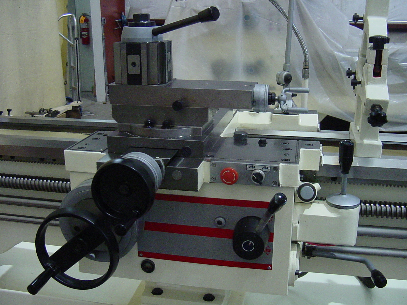 """Manual Lathe D-30"""" Tool Post and Carriage"""