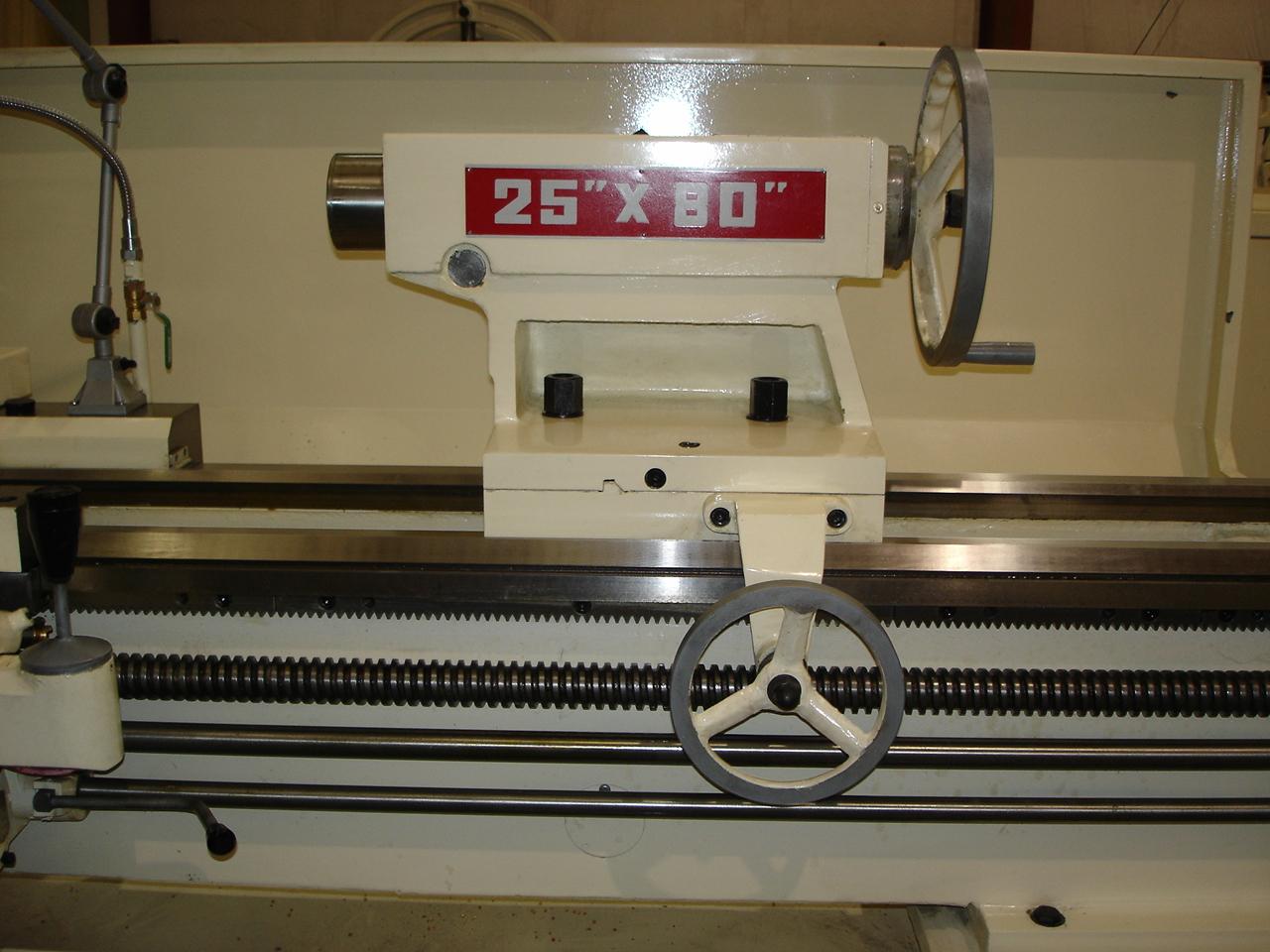 """Manual Lathe D-25"""" Tailstock"""