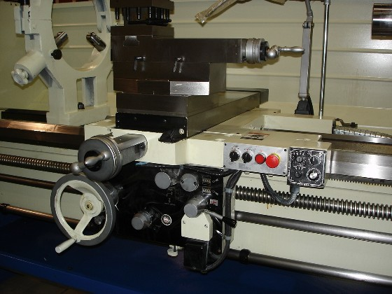 Manual Lathe Tool Post and Carriage