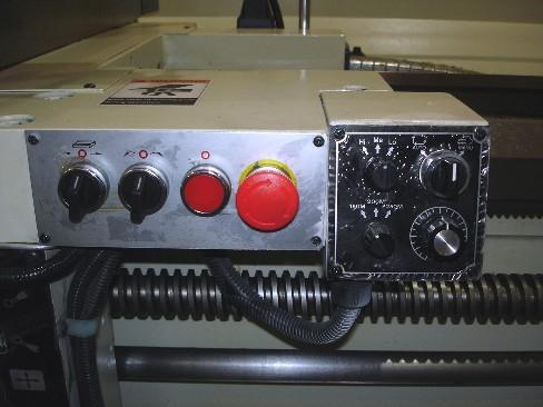 Manual Lathe Operator Control Station