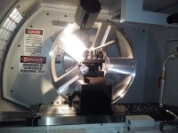 Rim Refinishing Lathe, Machining