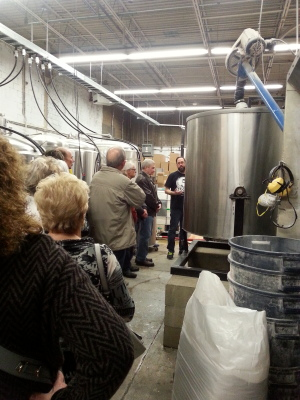 Tour of 5 Paddles Brewery