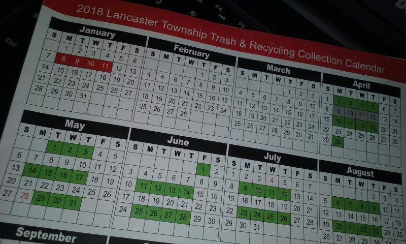 township calendar