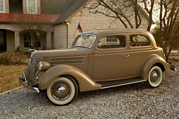36 Ford Tudor Sedan