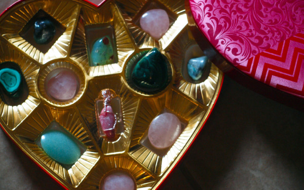 Valentine's Day Crystal Boxes!