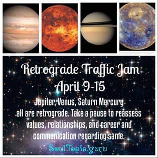Retrograde Traffic Jam