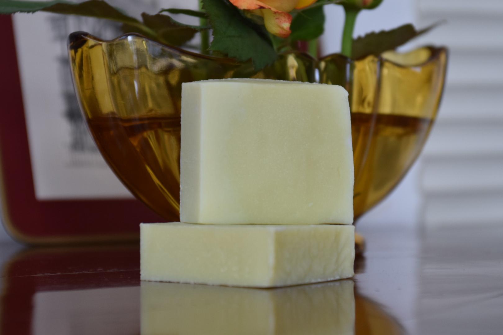 Aromatherapy soap frankincense geranium rose anti-aging artisanal