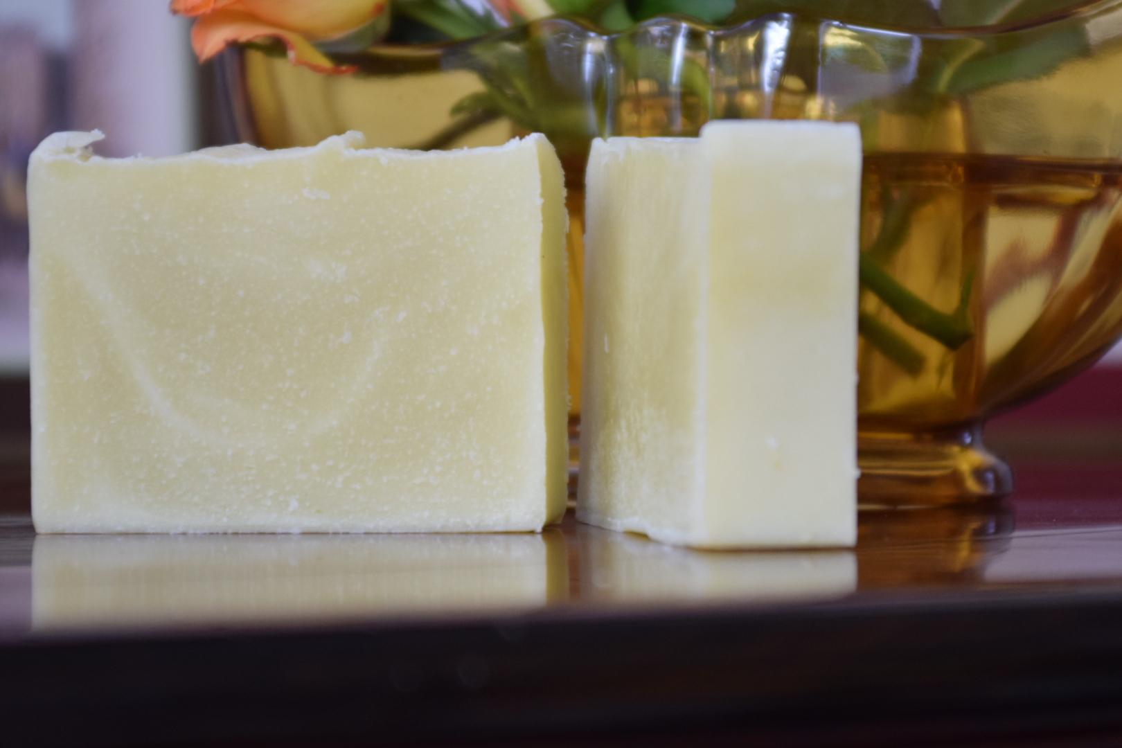 peppermint orange aromatherapy soap artisanal